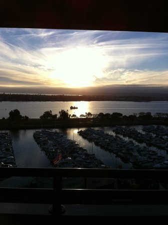 Marriott Marquis San Diego Marina:                   14th Floor View from Room