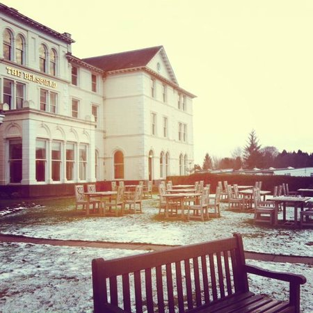 Laura Ashley Hotel The Belsfield:                   would be even prettier in summer!