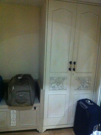 Empires Hotel Bhubaneswar: wardrobe & luggage storage