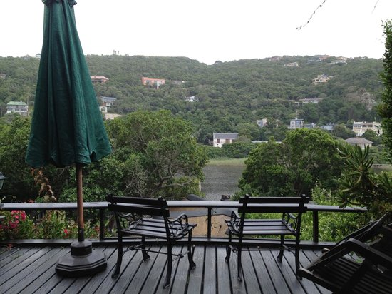 Moontide Guest House:                   View from treehouse