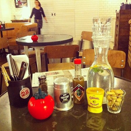 Sauces And Condiments Picture Of Gourmet Burger Kitchen London