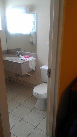 Regal Inn Chicago-O'hare Airport Franklin Park:                   Bathroom