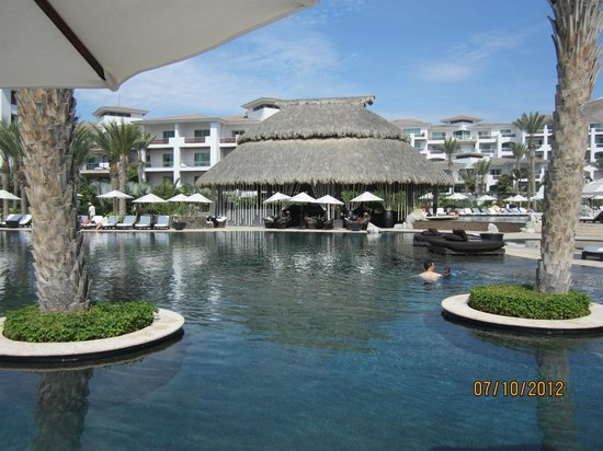 Cabo Azul Resort: Pool Area With Bar & Cafe