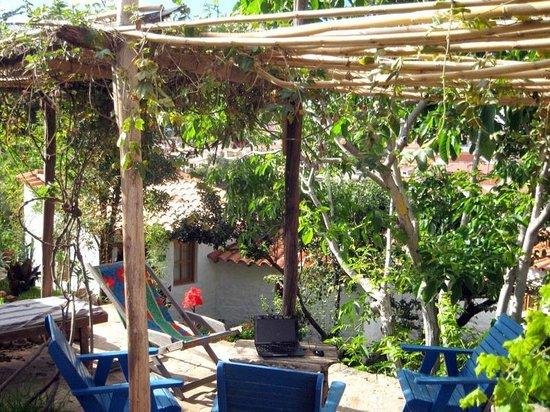 La Selenita: Sur la terrasse