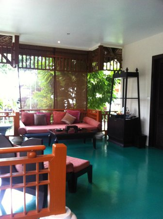 The Briza Beach Resort:                   Balcony