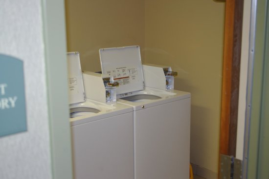 Comfort Inn & Suites Plano East:                   guest laundary area