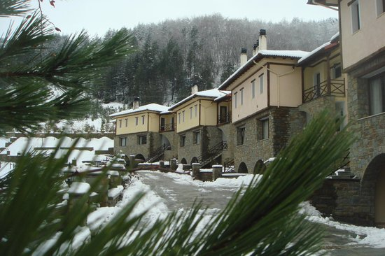 Pindos Palace: The rooms