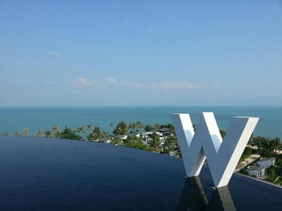 W Retreat Koh Samui:                   Endless