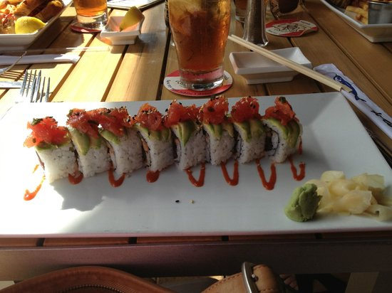 Dive Bar Restaurant :                   Tuna Roll Special $23.00