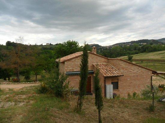 Agriturismo Fonteleccino: the farmhouse