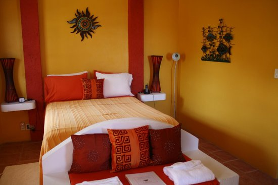 Seaside Cabanas:                   The room