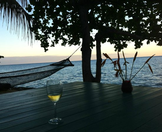 Mai Dive - Astrolabe Reef Resort:                   Sunset