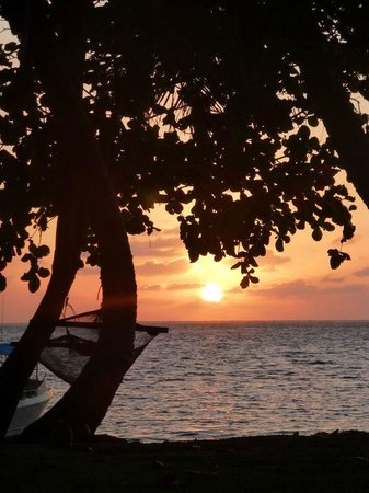 Mai Dive - Astrolabe Reef Resort:                   Sunrise
