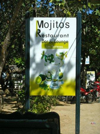 Mojitos sign