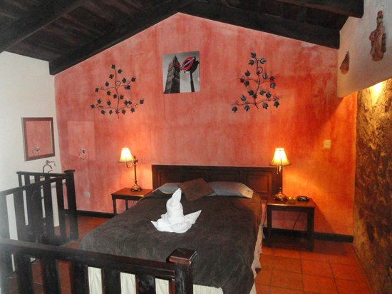Hotel EuroMaya Suites: Upstairs bedroom  - Room #4