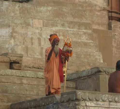 Palace on Ganges: Holy Man?