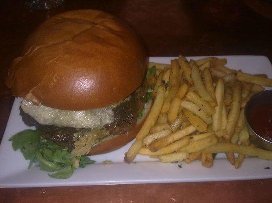 Garden At The Cellar: Animal burger