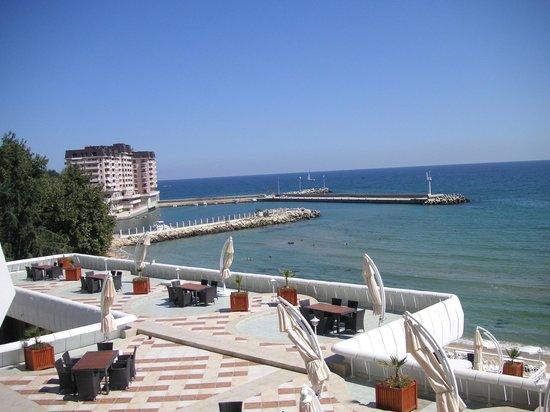 The Palace Hotel:                   BEACH AND MARINA