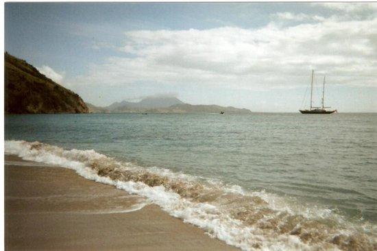 Frigate Bay Resort:                   Frigate Bay beach Caribbean side