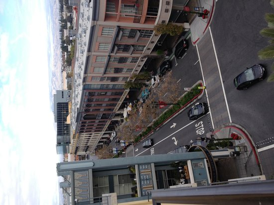Hotel Valencia - Santana Row: view from the room