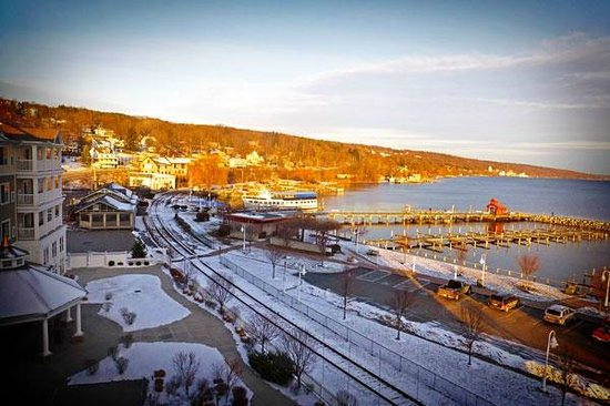 Watkins Glen Harbor Hotel: View from our Window!