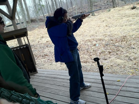 Woodloch Pines Resort:                   skeet shooting