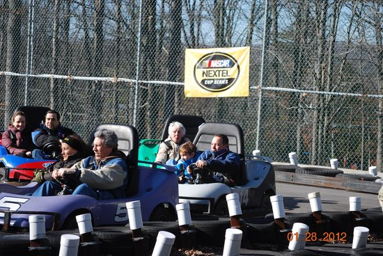 Woodloch Pines Resort:                   bumper cars