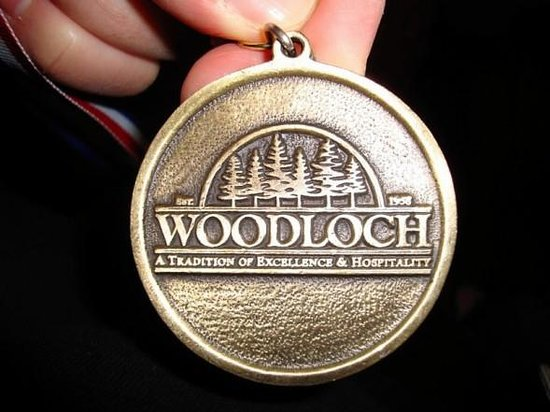 "Woodloch Pines Resort:                   we won a 1st place medal playing ""Name that Tune!"""