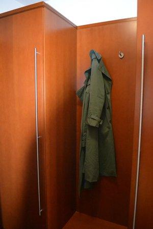 Hotel Aquis Grana:                   Place to hang the Coat
