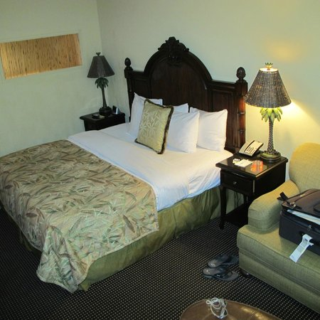 The Inn at Key West:                   King size bed
