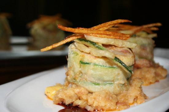 Restaurante Amalia: Buñuelos de manitas.