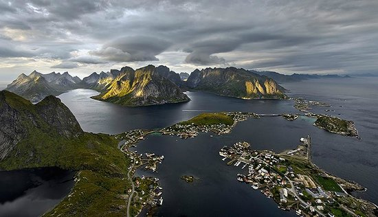 Nordland, Norway:                   Climbing top of mountains gets you into your soul...
