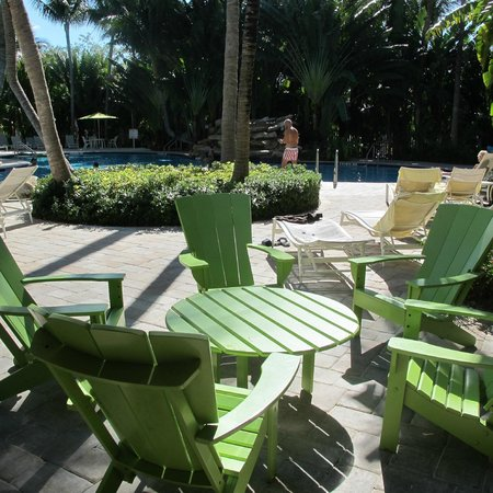 The Inn at Key West:                   At the pool
