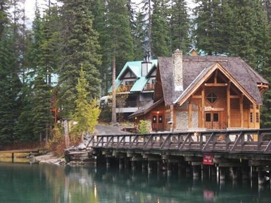 Emerald Lake Lodge:                   Hotel and Restaurants and Bar