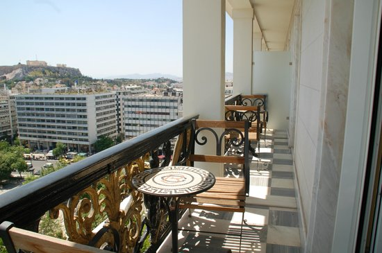 Hotel Grande Bretagne, A Luxury Collection Hotel: Room 706 balcony