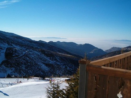 HG Maribel: view over the skislopes