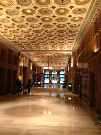 Millennium Biltmore Los Angeles:                   Main Part of Hotel
