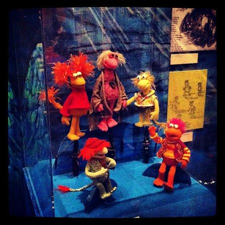 Center for Puppetry Arts:                   Fraggle Rock Characters
