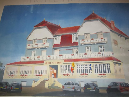 Logis Frederic :                   An older vision of the hotel from when it was a tad smarter