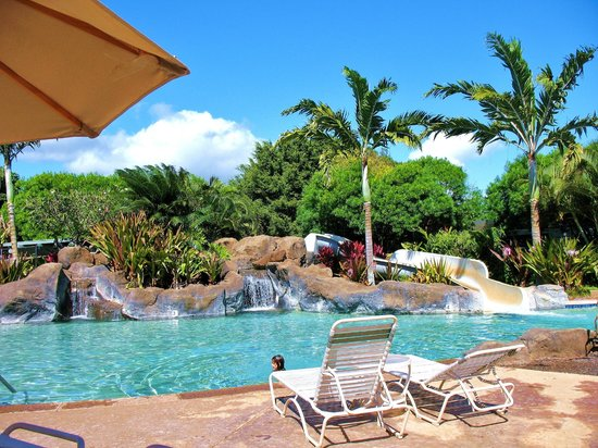 Kiahuna Plantation Resort:                   Pool across the road