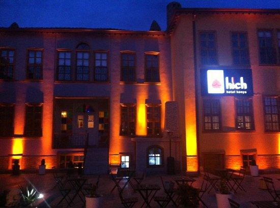 Hich Hotel Konya:                   hotel view