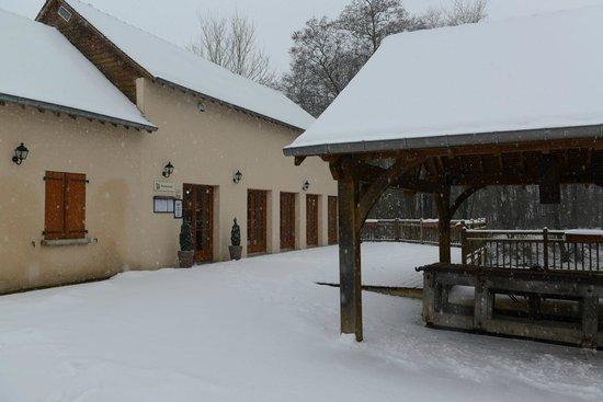 Hotel-Restaurant du Moulin Babet:                   Entrance to the restaurant