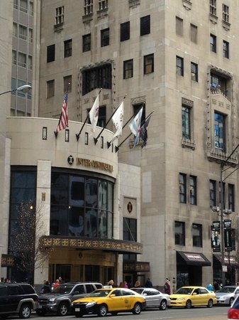 InterContinental Chicago:                   Awesome location!