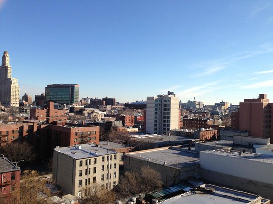 Fairfield Inn & Suites New York Brooklyn:                   view from rooftop terrace