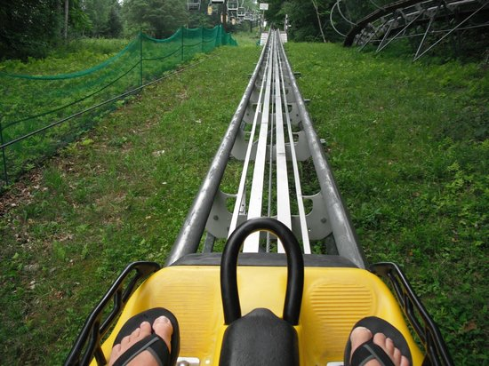 Jiminy Peak Mountain Resort :                   mountain coaster