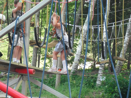 Jiminy Peak Mountain Resort :                   little kids ropes course