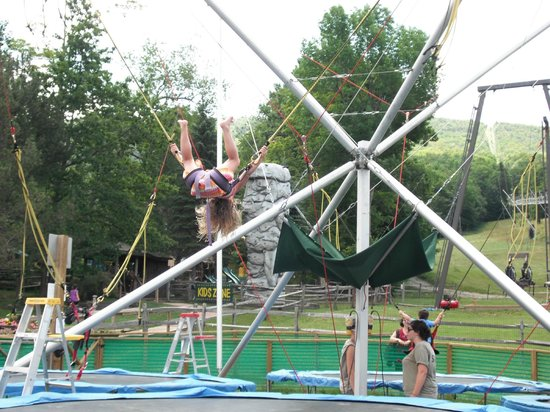 Jiminy Peak Mountain Resort :                   Euro-bungee jumper