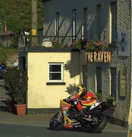 The Raven Pub:                   Raven Pub with Ian Hutchinson