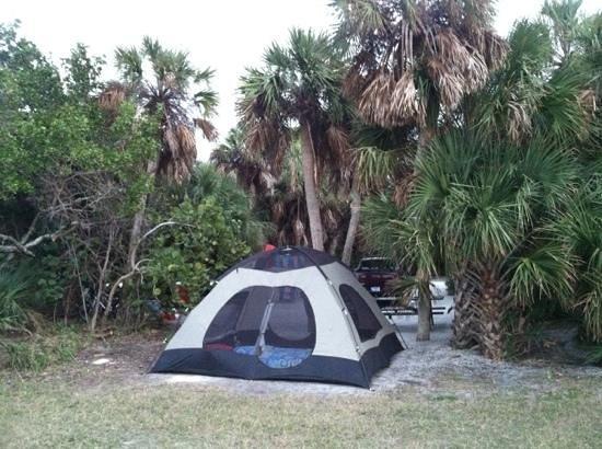 Fort de Soto Park Campground: campsite 24