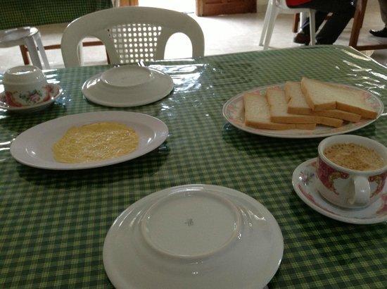 Hotel Susteran: makan pagi yang sederhana